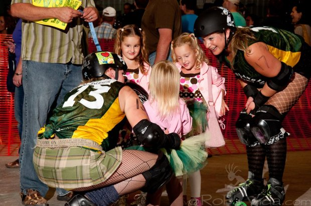 A secure relationship with roller derby and it's community will inspire more positivity.