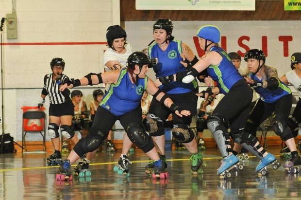 CRDA All-Stars in action. Photo courtesy of Chris Edwards.