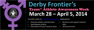 Trans Athlete Week Banner