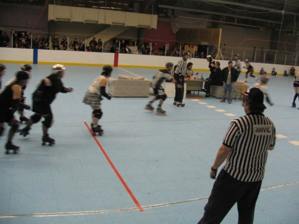kryptkeepers Vs Derby Dolls and the infamous Penalty Couch