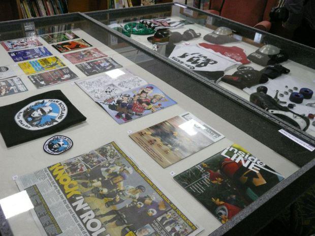 "The NMRD's ""Revolution on Roller Skates"" exhibit ran from September 22 to October 13, 2012."