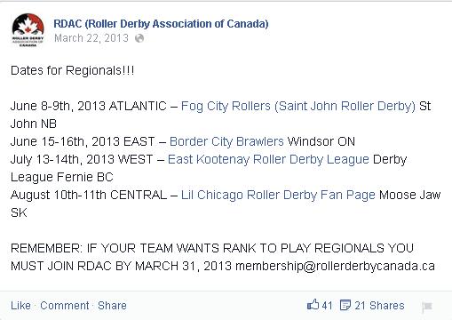 RDAC 2013 Regional Announcement